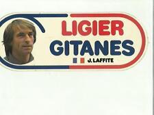 ADESIVO VINTAGE STICKER LIGIER GITANES J. LAFFITE