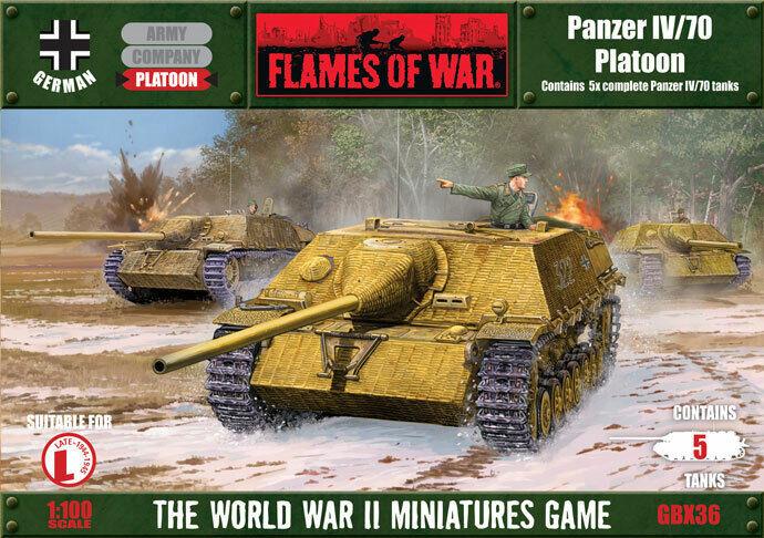 Jagd-Panzer IV 70 Platoon  Guderian's Duck German 15mm WWII oop FoW Resin GBX36