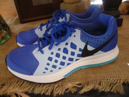 NEW Nike Zoom Pegasus 31 Youth Boys Blue Lagoon Black Sz 4 5 5.5 Athletic Shoes