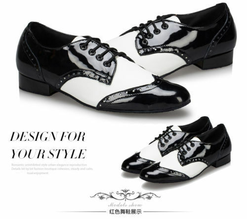 Men/'s shoes ballroom dancing adult Latin dance shoes soft outsole square dance