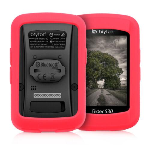 Housse GPS vélo en silicone pour navigateur Bryton Rider 530