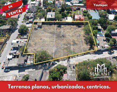 Venta de terrenos en facilidades zona céntrica  Yautepec