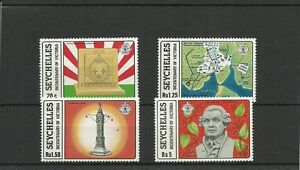 SEYCHELLES-SG437-440-BICENTENARY-OF-VICTORIA-MNH