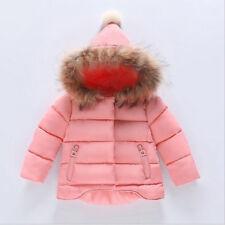 cd7f1e8622cf Girls Monsoon Pink Asha Bow Flare Dress Winter School Jacket Coat 3 ...