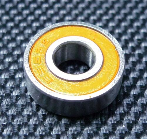 25 PCS Tamiya 1680 Rubber Sealed Ball Bearings Orange 8x16x5 688-2RS 8*16*5