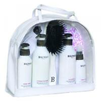 Hair Extension After Care Kit Bag Shampoo Treatment Conditioner Brush By Balmain
