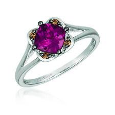 Le Vian® Ring - Raspberry Rhodolite® Chocolate Diamonds® 14K Vanilla Gold®