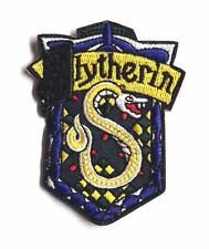 Harry Potter Slytherin  Patch - Kostüm gestickter Aufnäher zum  aufbügeln