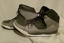 NIKE AIR JORDAN SC-1 DARK GREY-WHITE-STEALTH-BLACK SZ 13 [538698-011]