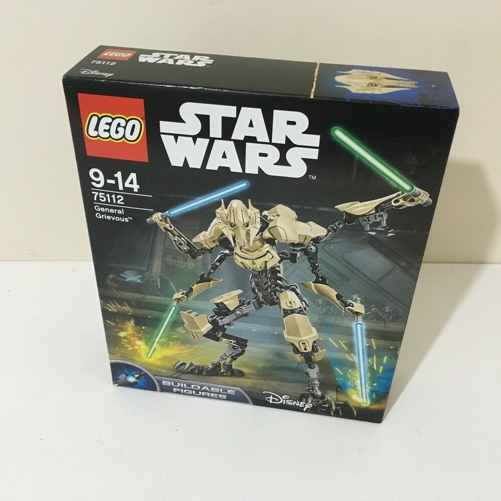NEW and SEALED LEGO Star Wars General Grievous (75112) DISCONTINUED