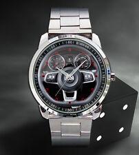 Volkswagen VW Golf VII GTI Mk7 Steering Wheel Sport Metal Watch 2016