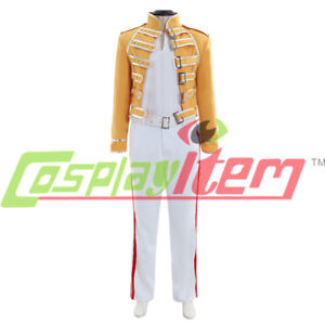 576e09f01a55f Image is loading Queen-Lead-Vocals-Freddie-Mercury-Cosplay-costume-queen-
