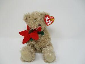 Ty Beanie Baby 2005 Holiday Teddy NWT Christmas Plush Holiday