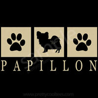 Papillon Silhouette T-shirt Tee - Mens, Womens, Youth, Tank, Short, Long Sleeve