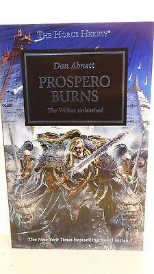 Sistematico L'eresia Di Horus. Prospero Burns. Libro In Brossura. Di Dan Abnett (gy671)-mostra Il Titolo Originale Sapore Aromatico