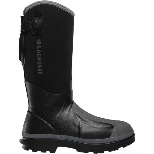 "Lacrosse Men/'s 248310 14/"" Alpha Range 5MM NMT//MET//PR Black Shoes Working Boots"