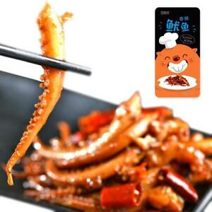 14g Chinese Delicious BBQ Squid Hot Spicy Strips Snack Food Free ...