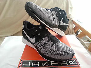 Nike Flyknit Trainer Black White 532984 010 Padded Size 9.5 DS Kanye ...