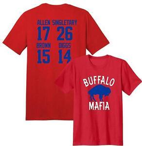 buffalo bills t shirt jersey