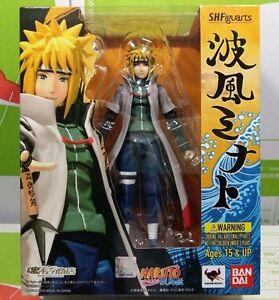 S-H-Figuarts-Naruto-MINATO-NAMIKAZE-Action-Figure-Status-Model-Toys-New-In-Box