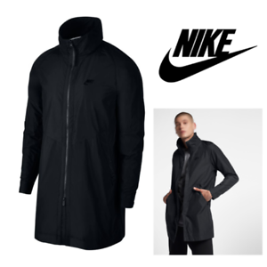 4425f1aed2 Men s Medium Nike Sportswear NSW Franchise Trench Coat Jacket 886251 ...