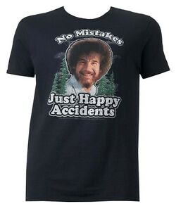 73454af65f264 Image is loading Bob-Ross-No-Mistakes-Just-Happy-Accidents-Black-