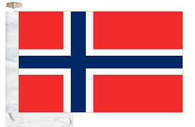 Norway Flag Courtesy Boat amp; Roped Toggled aOarxBPw
