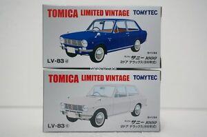 Tomytec Tomica Limited Vintage LV-83 Nissan Datsun Sunny 1000 DX Vehicle Model