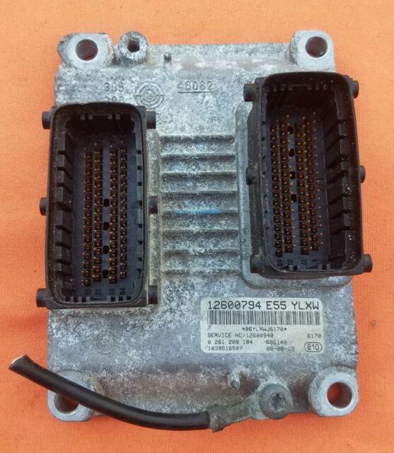04-07 Cadillac STS CTS Engine Computer Control Module Unit