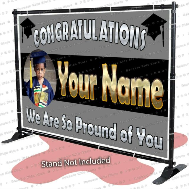 Class of 2019 Graduation Banner Personalized Backdrop