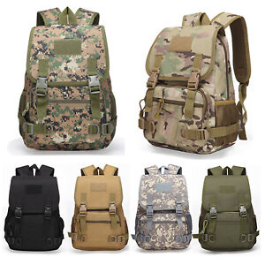 8e5338fb62 Image is loading Army-Military-Trekking-Rucksack-Backpack-School-bags -Outdoor-