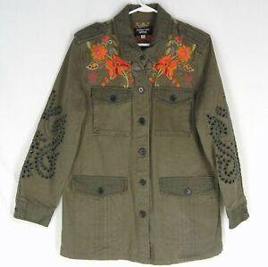 JOHNNY WAS WORKSHOP Violette Eyelet Jacket M L Embroidery ...