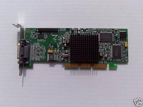 SFF Duale Matrox G550 32MB AGP G55MADDA32DB Grafikkarte