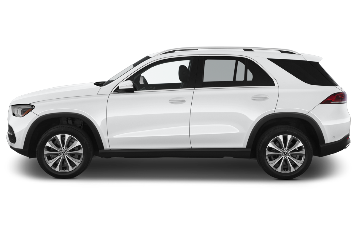 Mercedes-Benz GLE side view