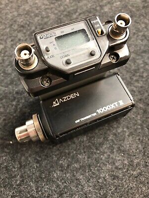 Audio For Video Video Production & Editing Honey Azden 1000urx/vm Uhf Receiver And 1000xt Plug-in Uhf Transmitter