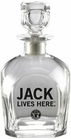 Jack Daniel's Licensed Barware Jack Lives Here Decanter, New, Free Shipping