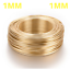 1mm-14K-GOLD-PLATED-Aluminium-Craft-Florist-Wire-Jewellery-Making-10m-length miniature 1