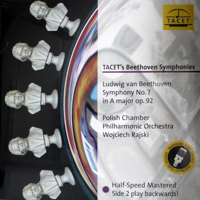 BEETHOVEN  SYMPHONY NO.7 TACET  L-242 - RAJSKI  HALF SPEED MASTERED PALINDROM