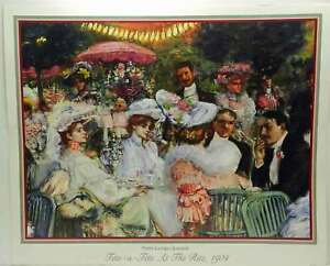 Tete-a-Tete-At-the-Ritz-1904-Pierre-Georges-Jeanniot-Victorian-Women-Men-Diner