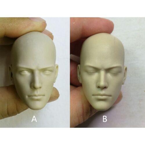DIY 1//6 Scale Holy Monk Male Unpainted Head Sculpt Fit 12/'/' Action Figure