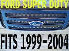 Ford BLACK  Grille CONVERSION Fits 1999-2004 Super Duty F250 F350 F450 F550