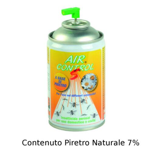 n.6 bombole AIR CONTROL S INSETTICIDA ESTRATTO DI PIRETRO AL 50/%