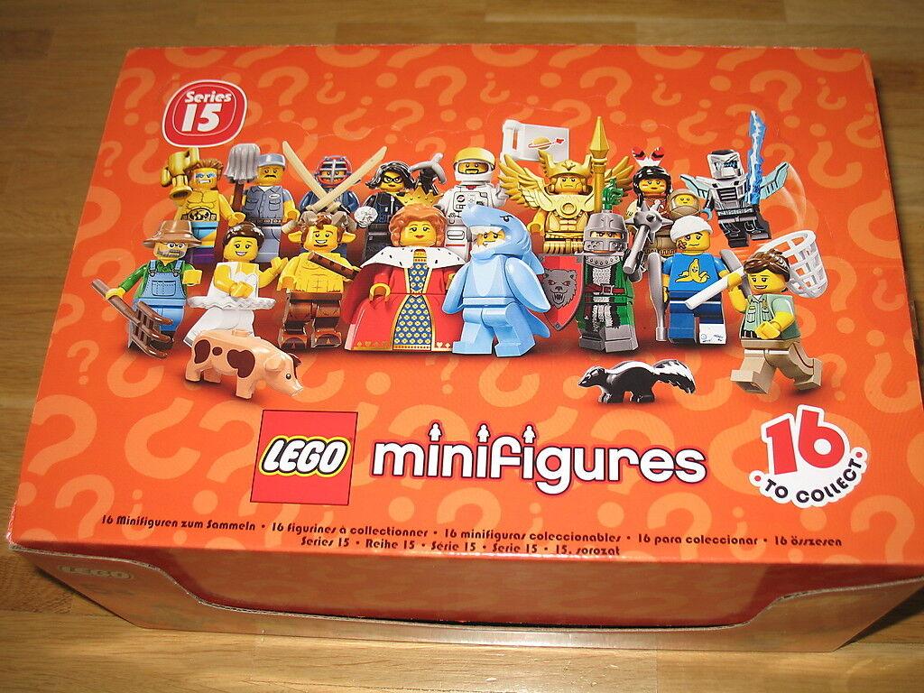 (EUR (EUR (EUR 2 99 Stück) DISPLAY mit 60 Stück LEGO® MINIFIGUREN Serie 15 Nr. 71011 e2c0d5