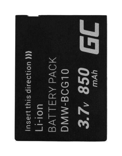 Replacement Battery for Panasonic Lumix DMC-TZ27 DMC-TZ30 camera 850mAh