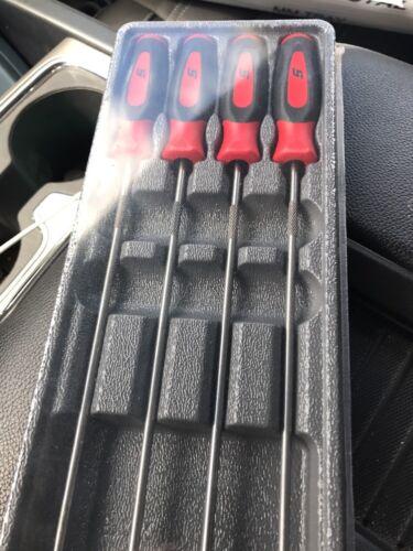 New Snap On 4 Pc Mini Long Pick Set SGLASA204A
