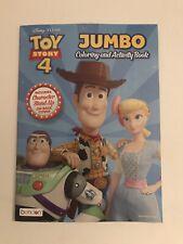 Kids Disney Pixar Toy Story 4 Jumbo Coloring And Activity Book Bonus Cutouts For Sale Online Ebay