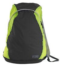 Lewis N Clark Electrolight Backpack Charcoal/Neon Lemon 1101CHN