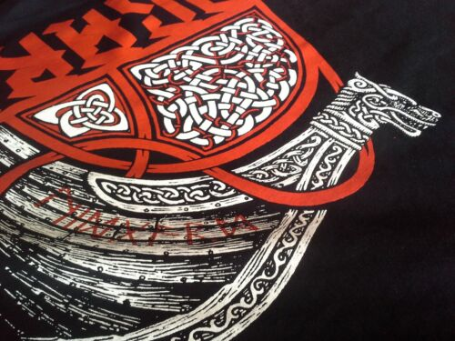 Midgard Home of the Vikings T-Shirt Odin Thor Mjölnir Loki Midgard Wikinger Kelt