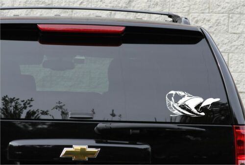 Very detailed northern pike decal in 9 colors