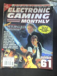 EGM-ELECTRONIC-GAMING-MONTHLY-N-61-RIVISTA-VIDEOGIOCHI-USA-STAR-WARS